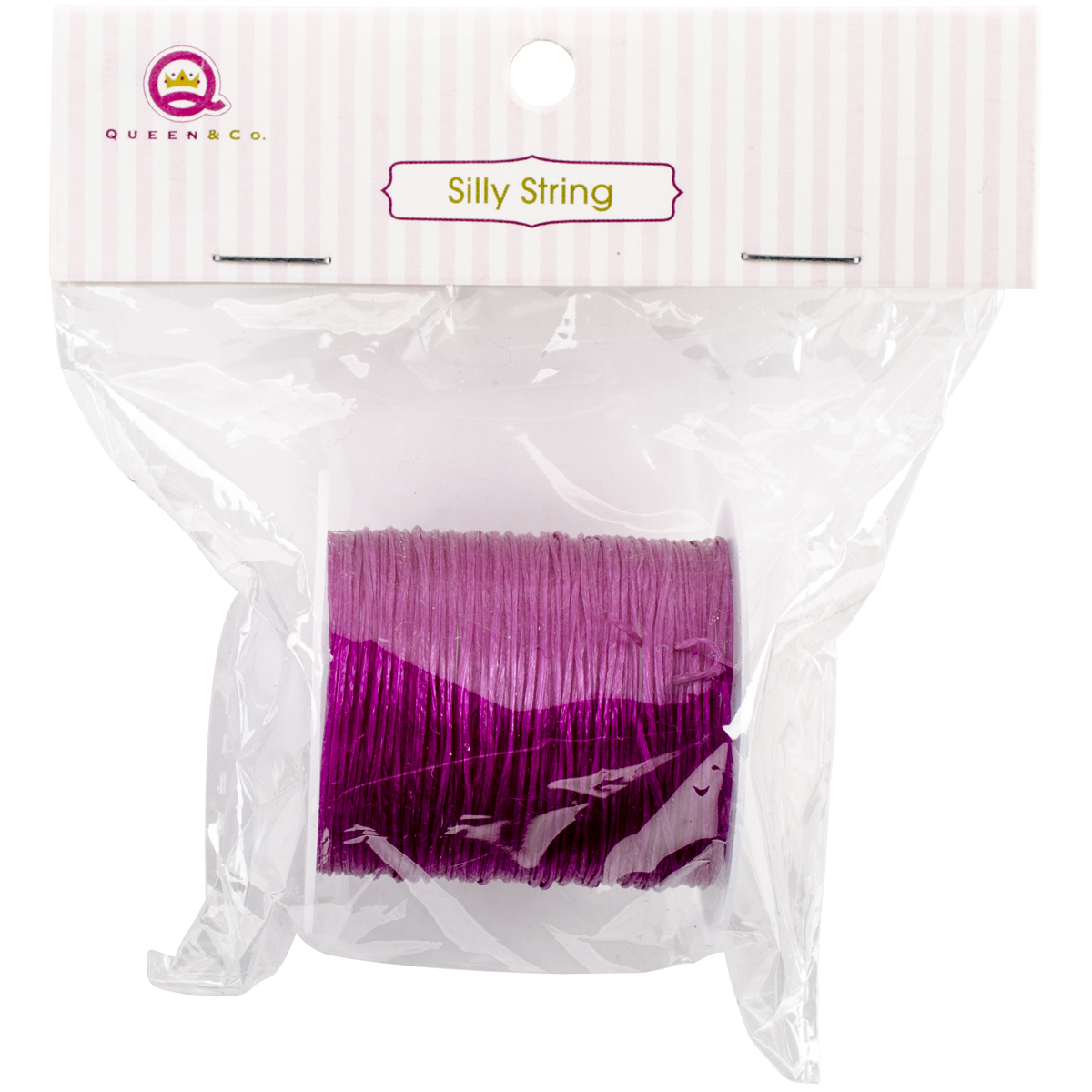 Silly String 10Yd-Purple