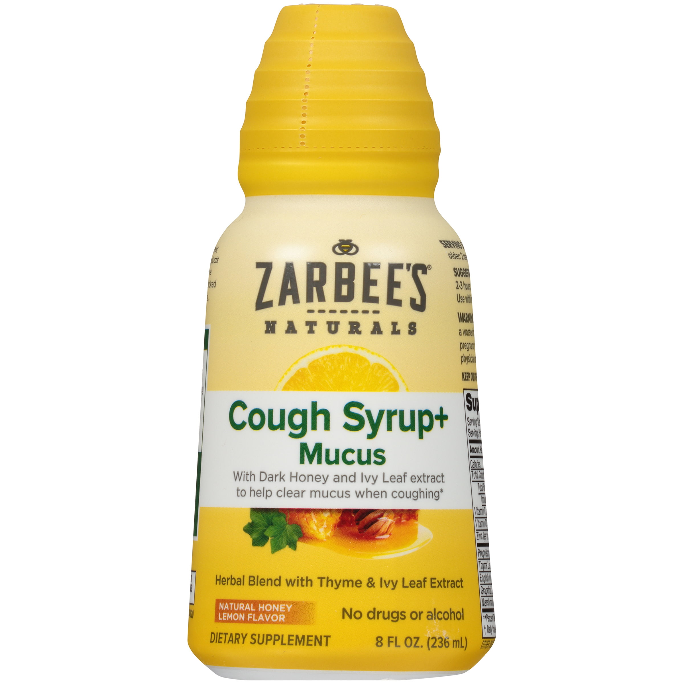 Zarbee S Naturals Cough Syrup Mucus With Dark Honey