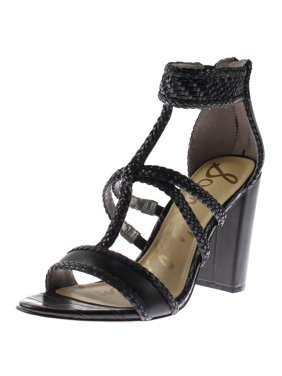 7e21fcde98a4 Product Image Sam Edelman Womens Yordana Faux Leather Braided Dress Sandals