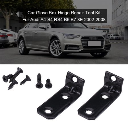Car Glove Box Hinge Repair Tool Kit for Audi A4 S4 RS4 B6 B7 8E 2002-2008, Glove Box Hinge Repair,Hinge