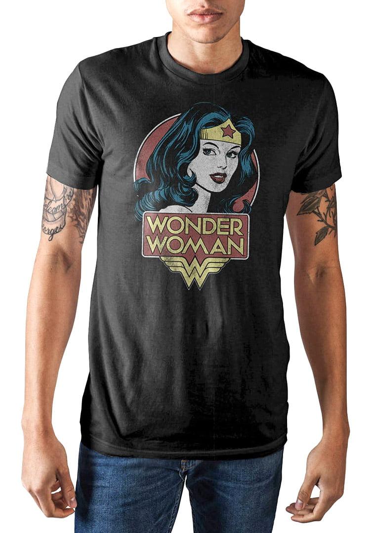 Official Wonder Woman Movie Logo T Shirt DC Comics Princess of the Amazons NEW