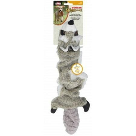 "SPOT Skinneeez Bungee Raccoon Dog Toy 36"""
