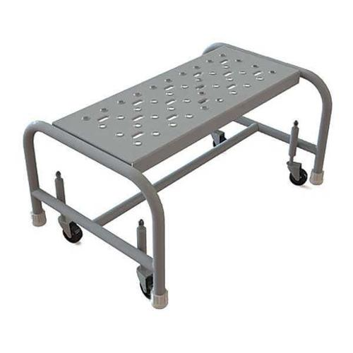 TRI-ARC WLSR001242 Mobile Step Stand,Steel,Serrated,24inW G0638620