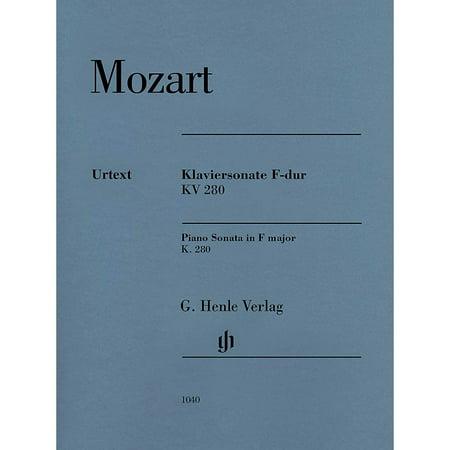 G. Henle Verlag Piano Sonata in F Major K280 (189e) Henle Music Folios by Mozart Edited by Ernst (Mozart Piano Sonata 11 In A Major)