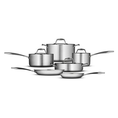 Tramontina Gourmet Tri-Ply Clad 10 Piece Cookware Set