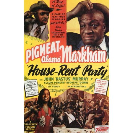 House-Rent Party POSTER Movie Mini Promo - Party Movie