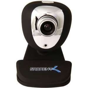 SABRENT USB WEBCAM + MICROPHONE BLACK PLUG & PLAY