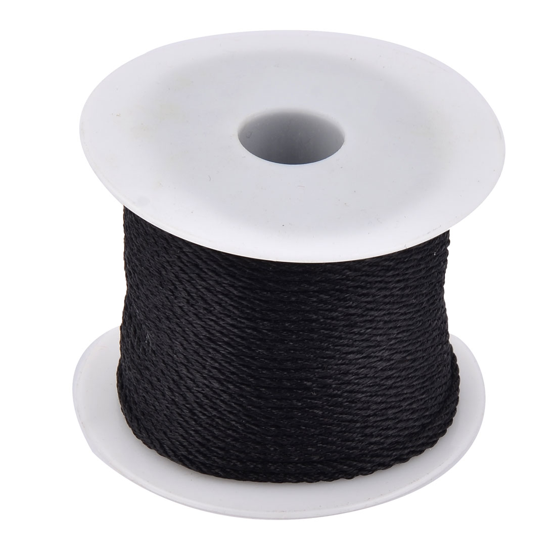 Household Nylon Handcraft Chinese Knot Jewelry Making Cord String Black 39 Yards