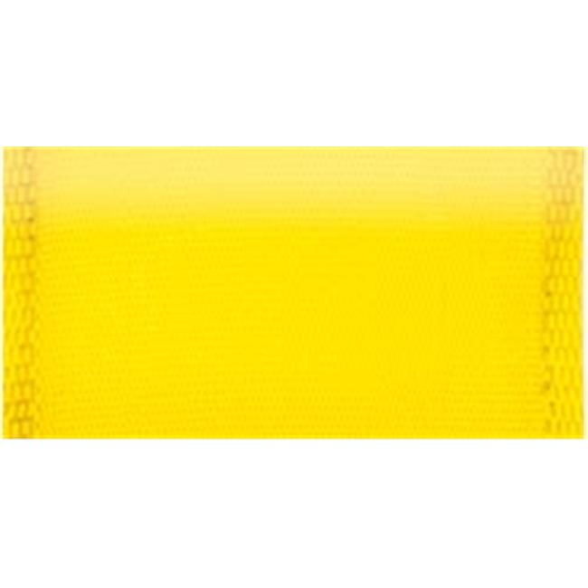 Offray 262203 Wired Bistro Ribbon 1. 5 inch 9 Feet-Bright Yellow