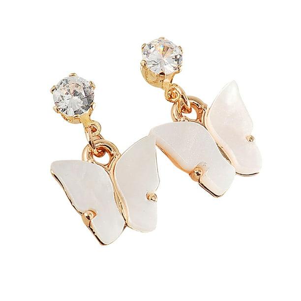 Wild Earrings Jewelry Women Simple Alloy Gift Fashion Cubic Zirconia Earrings