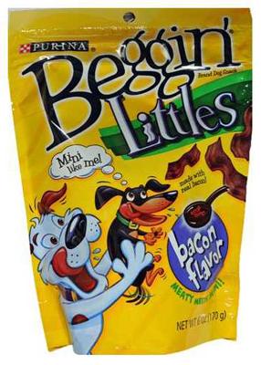 Purina Beggin' Littles Bacon Flavor Dog Treats, 6 oz Pouch by Nestl�� Purina PetCare Company