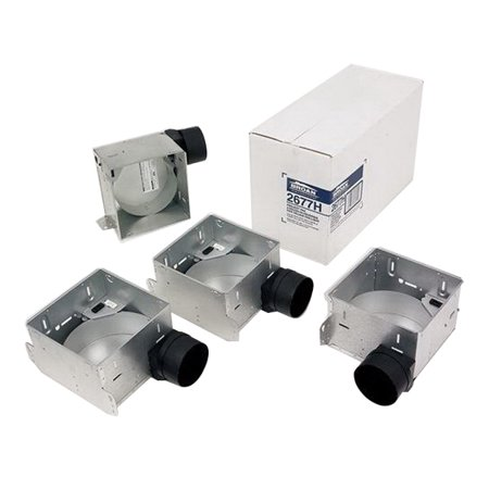 BROAN Ultra Green Ceiling Mount Type IC Housing Pack, Steel, Galvanized