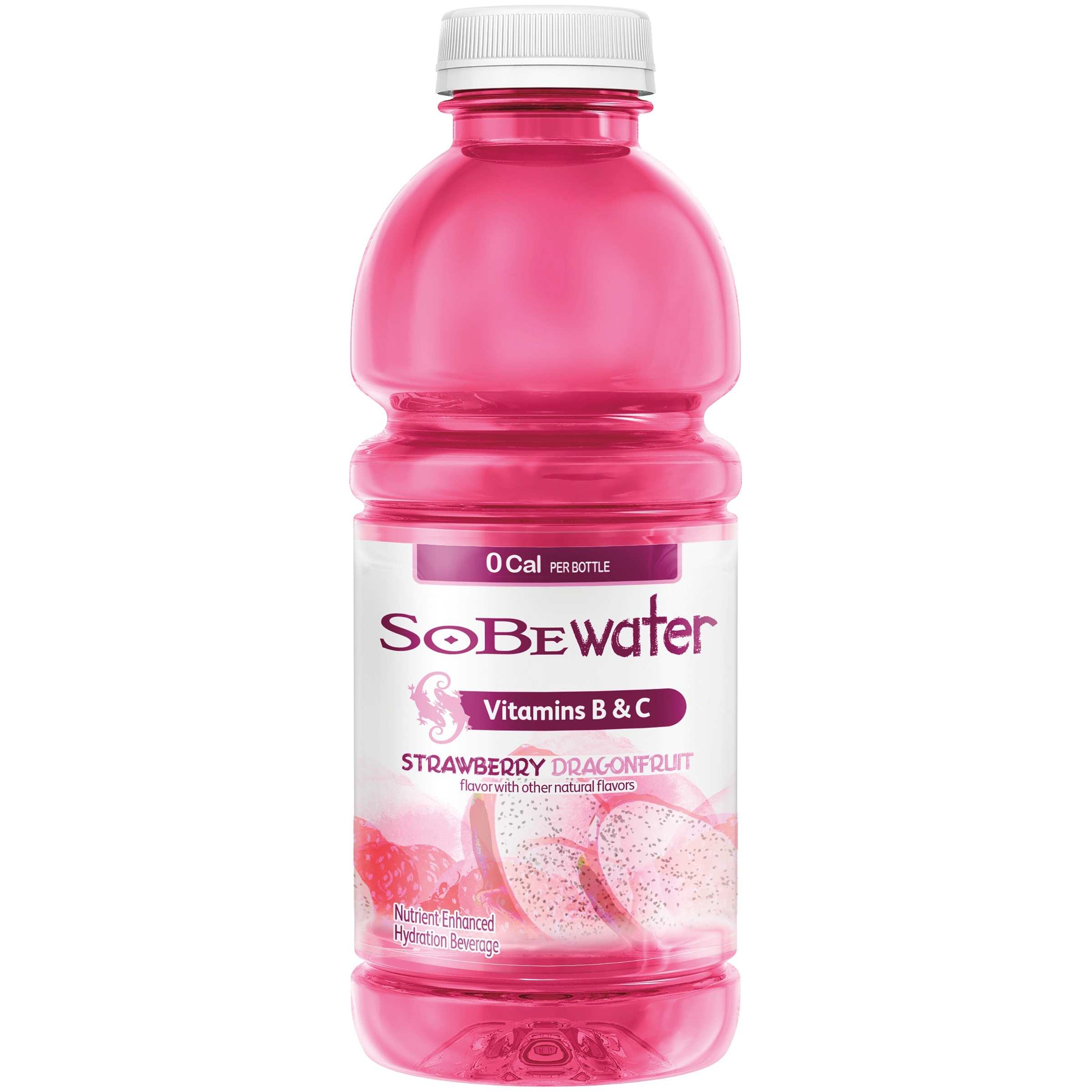 SoBe Lifewater Strawberry Dragonfruit Water Beverage, 20 fl oz