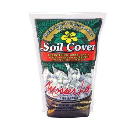 Mosser Lee 1130 White Marble Decorative Soil Cover, 1.5 Quart