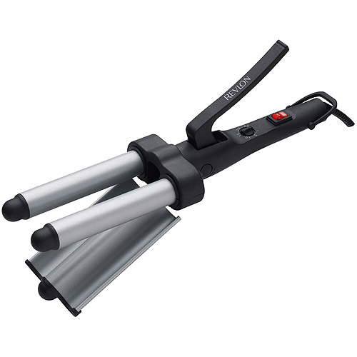 Revlon Perfect Heat 3 Barrel Deep Waver Styling Curling Iron