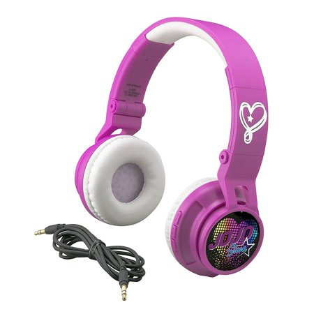 Bluetooth Headphones for Kids Wireless Rechargeable Kid Friendly Sound (Jojo Siwa)