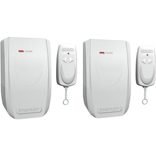 Stanley 2pk Indoor Wireless Remote Control, White