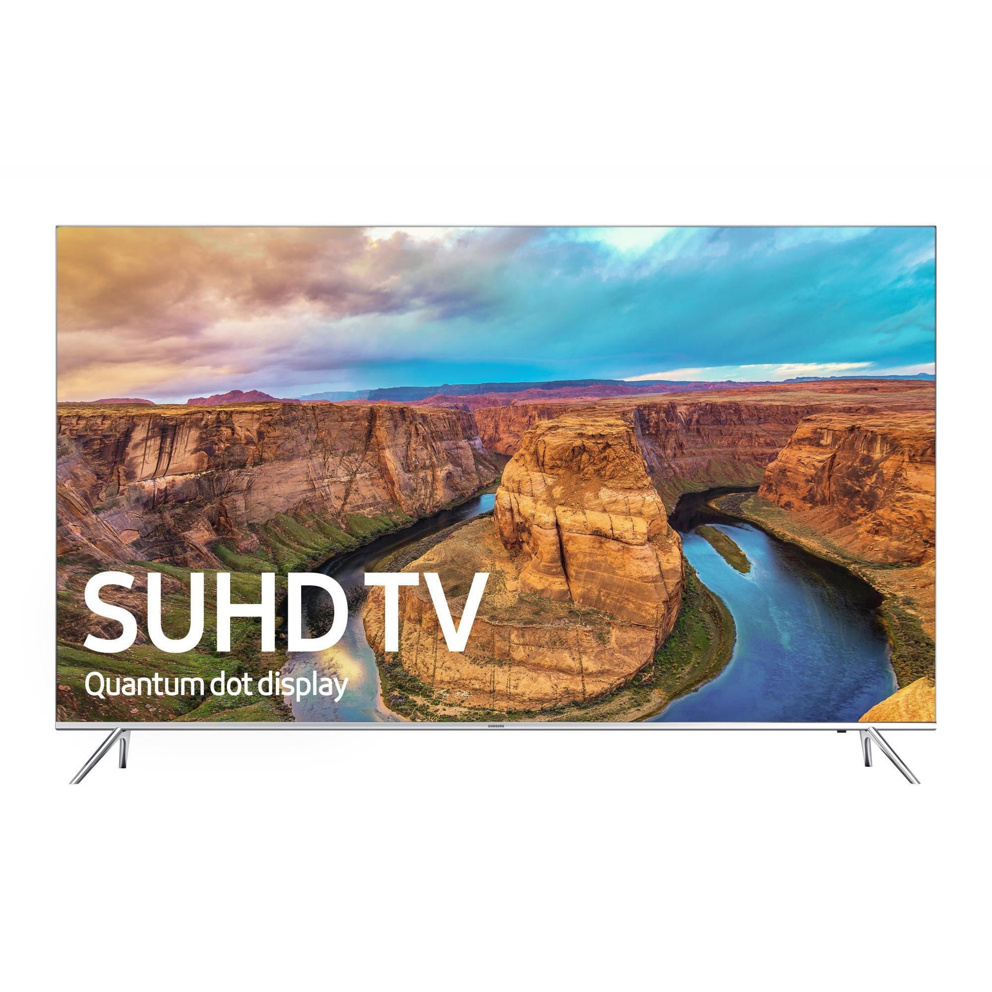 "SAMSUNG 49"" 8000 Series - 4K SUHD Smart LED TV - 2160p, 240MR (Model#: UN49KS8000)"