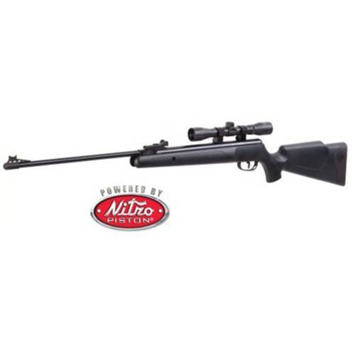 Crosman CPNP22SX Phantom NP Synthetic Stock Nitro Piston Hunting Air Rifle with 4x32 Scope, .22-Caliber by Crosman