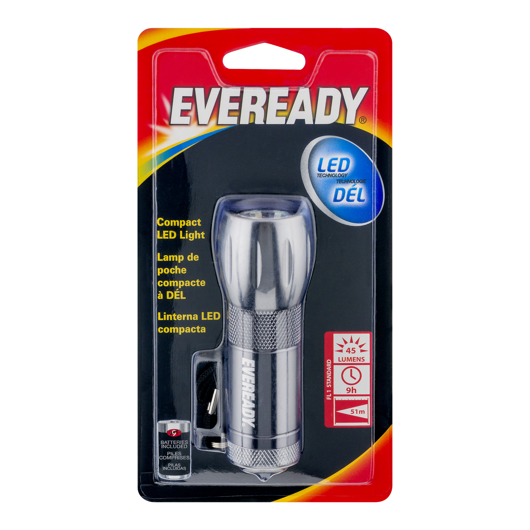 Eveready Compact LED Light, 1.0 CT
