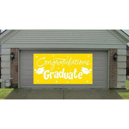 Yellow Congratulations Graduate Gigantic