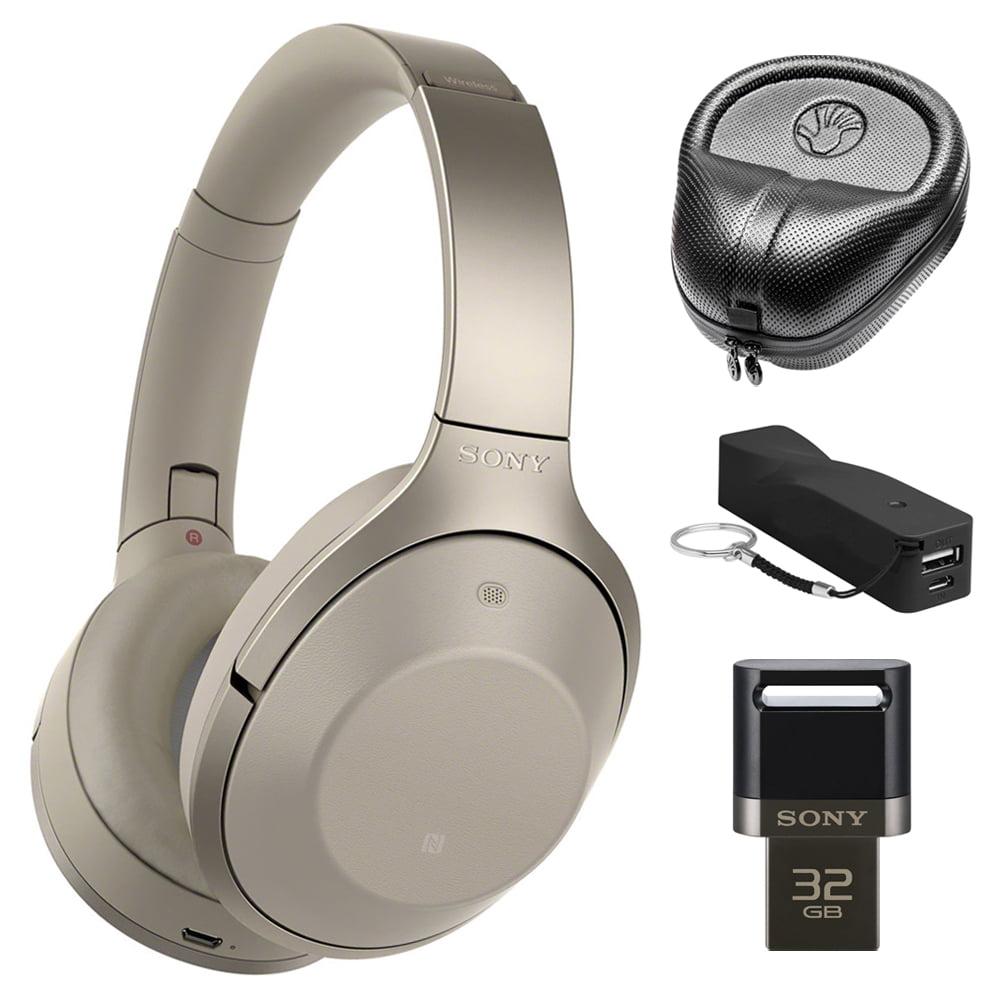 Sony MDR-1000X/C Gray-Beige Hi-Res Bluetooth Wireless Noi...