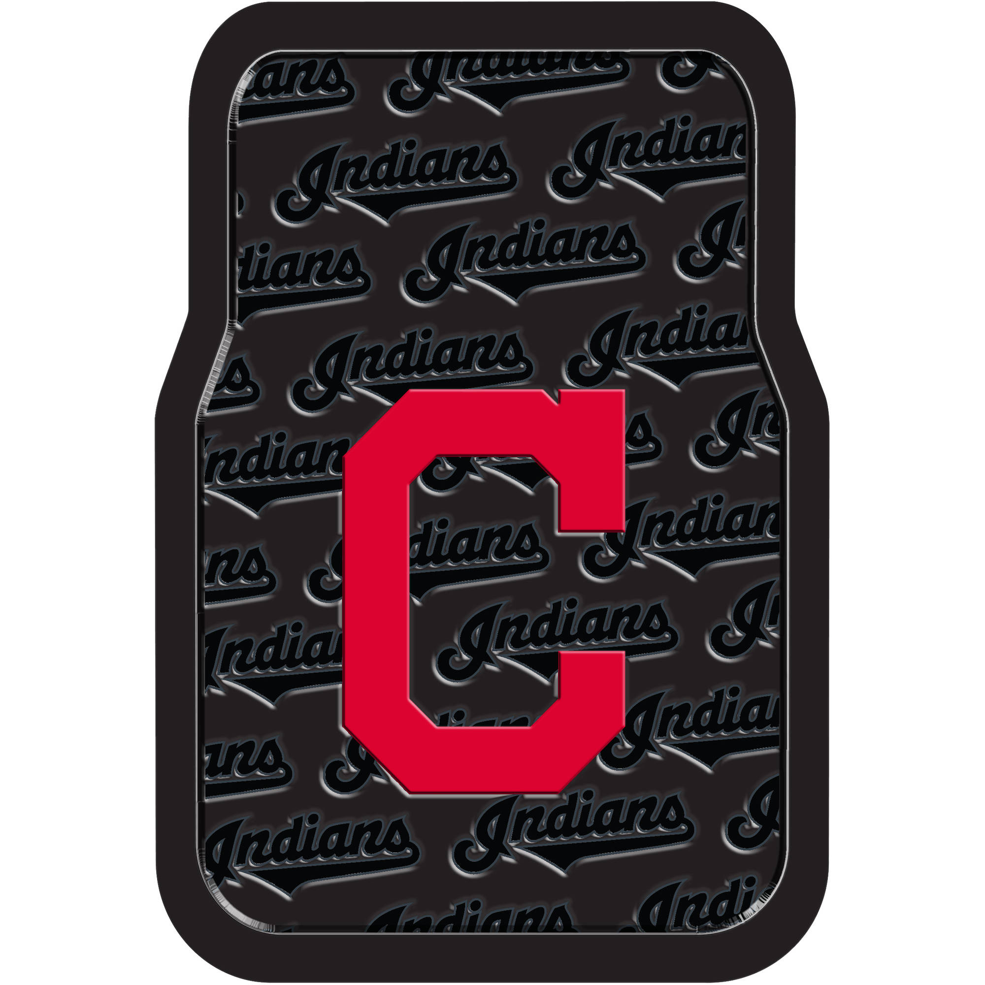 MLB Cleveland Indians Floor Mats, Set of 2