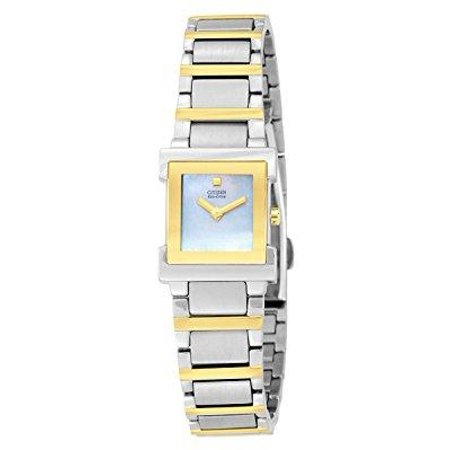 - women's ew9904-56d eco drive two-tone watch