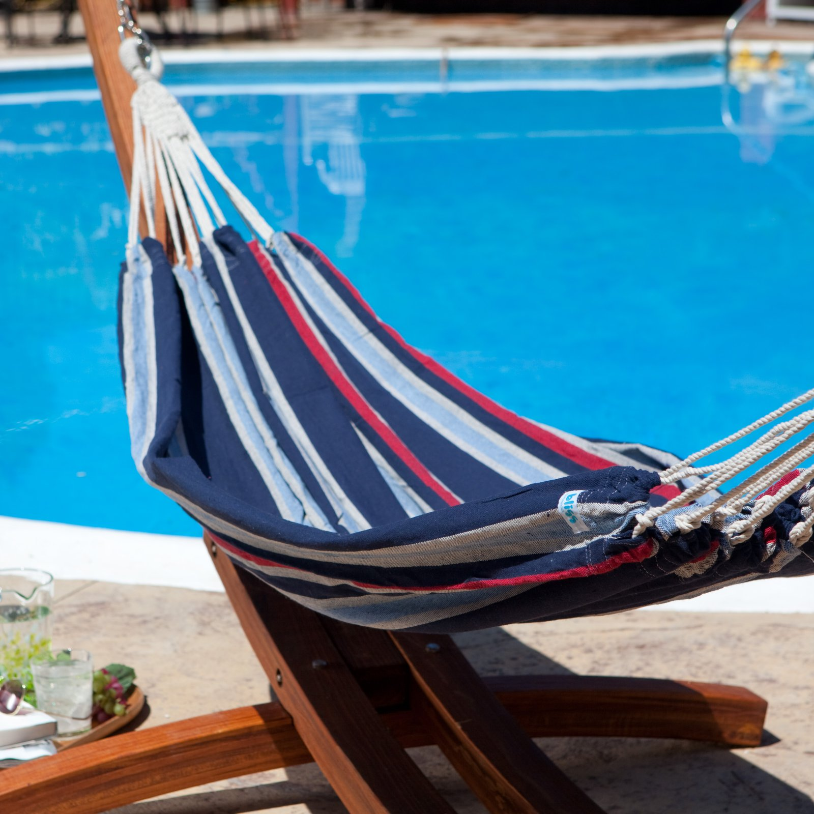 Bliss Hammocks Oversized Double Hammock in a Bag - Patriot