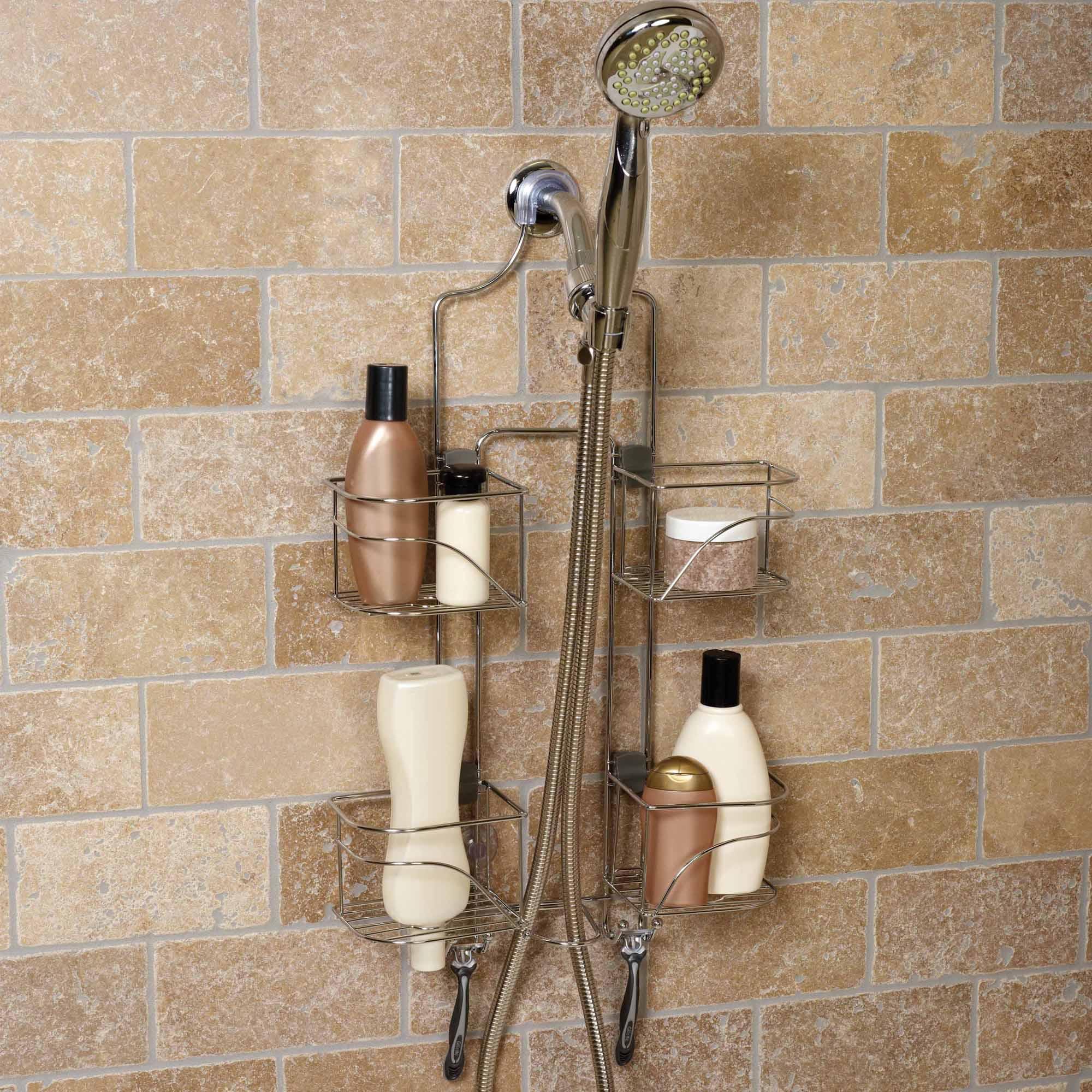 Chapter Expanding Shower Caddy, Chrome - Walmart.com