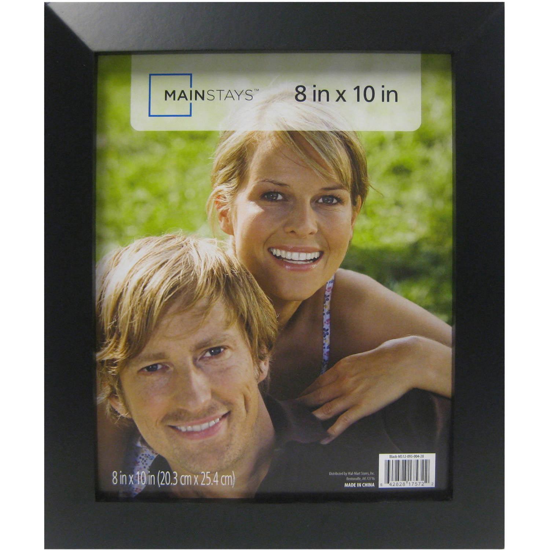 Mainstays 8x10 Wide Wood Frame, Black