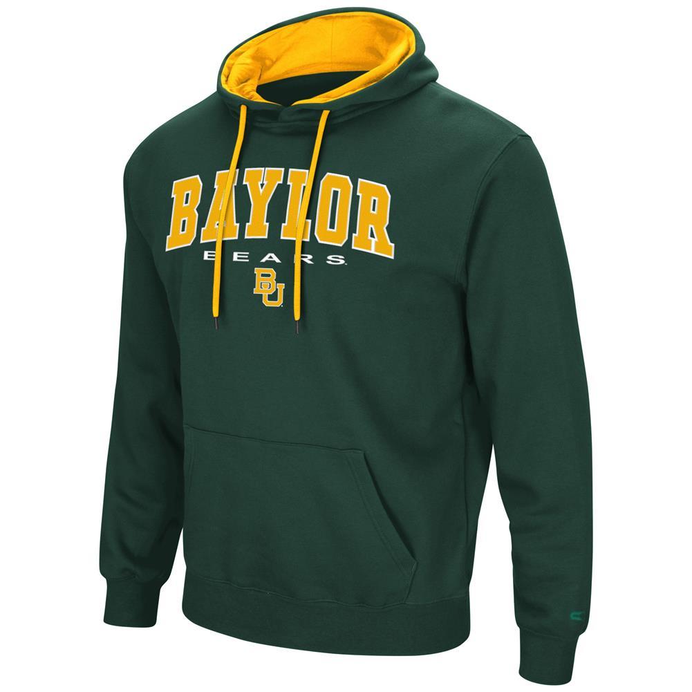 Men's Zone III Baylor University Bears Hoodie Pullover Sweatshirt