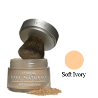 Loreal Bare Naturale Powdered Mineral Foundation Spf 19, Soft Ivory - 0.35 Oz, 2 Ea, 3 Pack