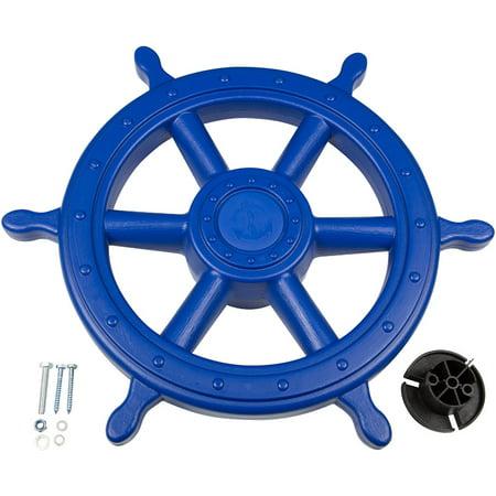 Swing Set Stuff Inc. Ships Wheel (Blue) ()