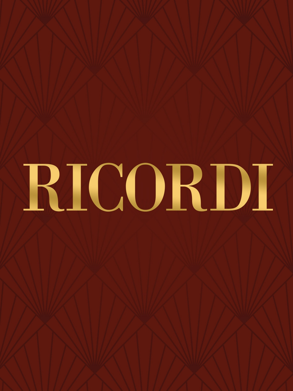 Ricordi Concerto in A Minor for Violin Strings and Basso Continuo RV356 String Solo by... by