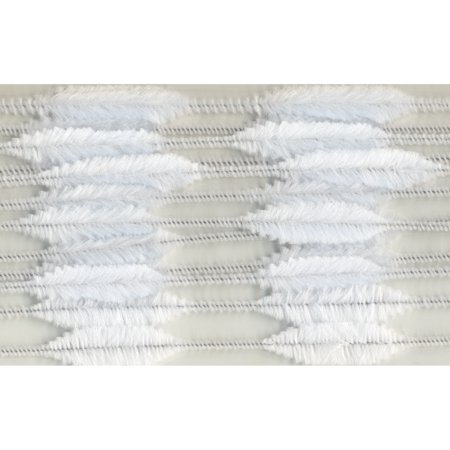 Chenille Bump Stems Pipe Cleaners, White, 15Mm - 1 - Chenille Pipe Cleaners