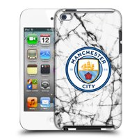 OFFICIAL MANCHESTER CITY MAN CITY FC 2017/18 MARBLE BADGE HARD BACK CASE FOR APPLE IPOD TOUCH MP3