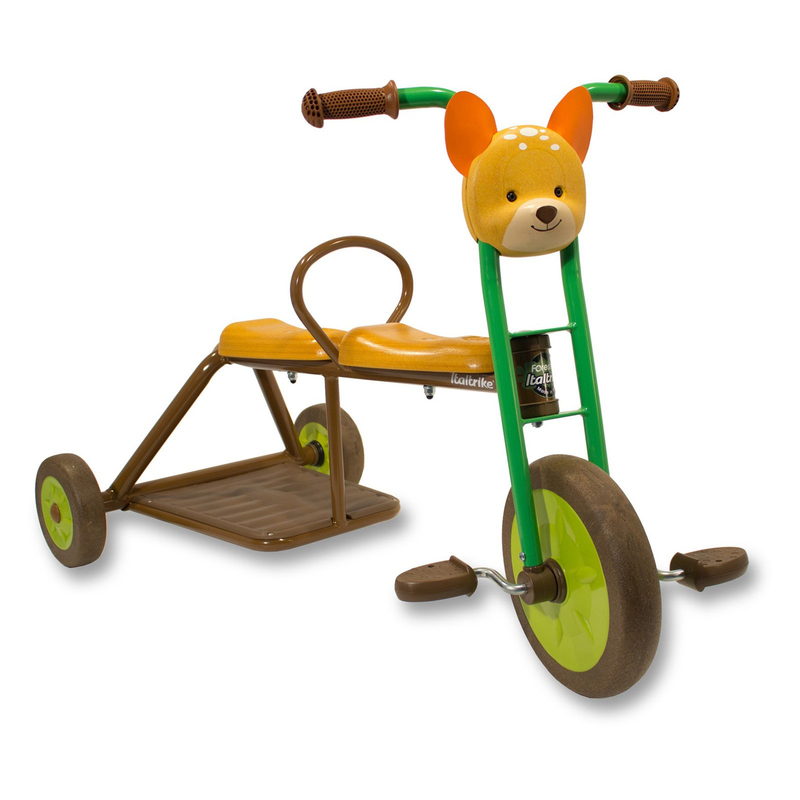 Italtrike Forester Deer Two Seated Tricycle