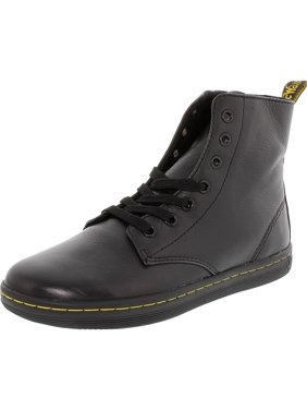 7481c3b31fd4ab Product Image Dr. Martens Women s Leyton Black Ankle-High Leather Boot - 8M