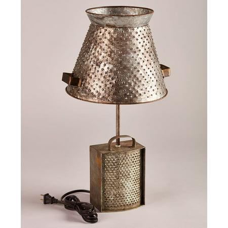 Rustic Farmhouse Table Lamp - Aspen Rustic Table Lamp