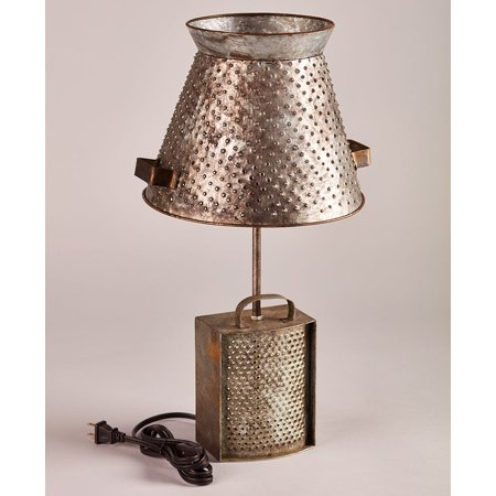 Rustic Farmhouse Table Lamp - -