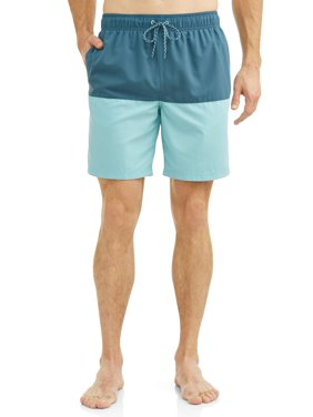 3b2036ab145 Product Image Men's All Guy Colorblock 8-inch Swim Short, up to Size 5XL
