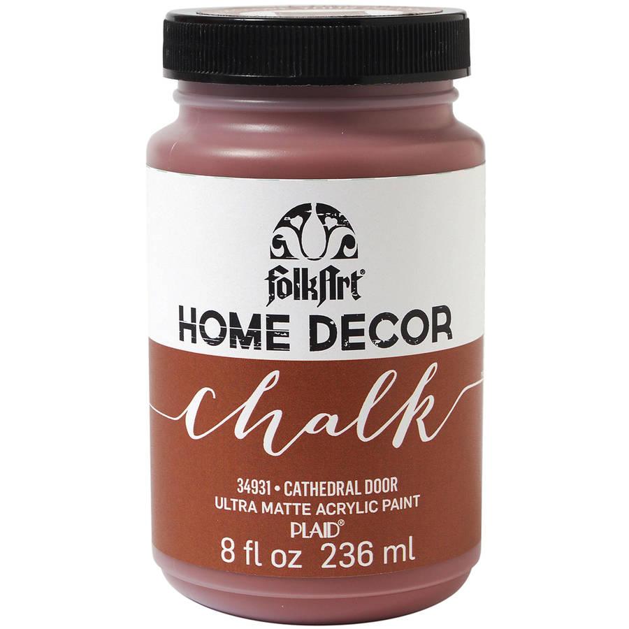 FolkArt Home Decor Chalk Paint 8oz Walmartcom