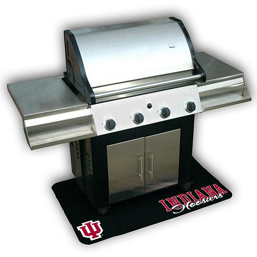 Mr. Bar-B-Q NCAA Protective Grill Mat, University of Indiana Hoosiers