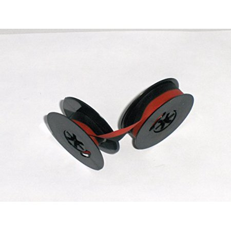 Smith Corona Typewriter Ribbon Black and Red Ink Twin Spool (Party City In Corona)