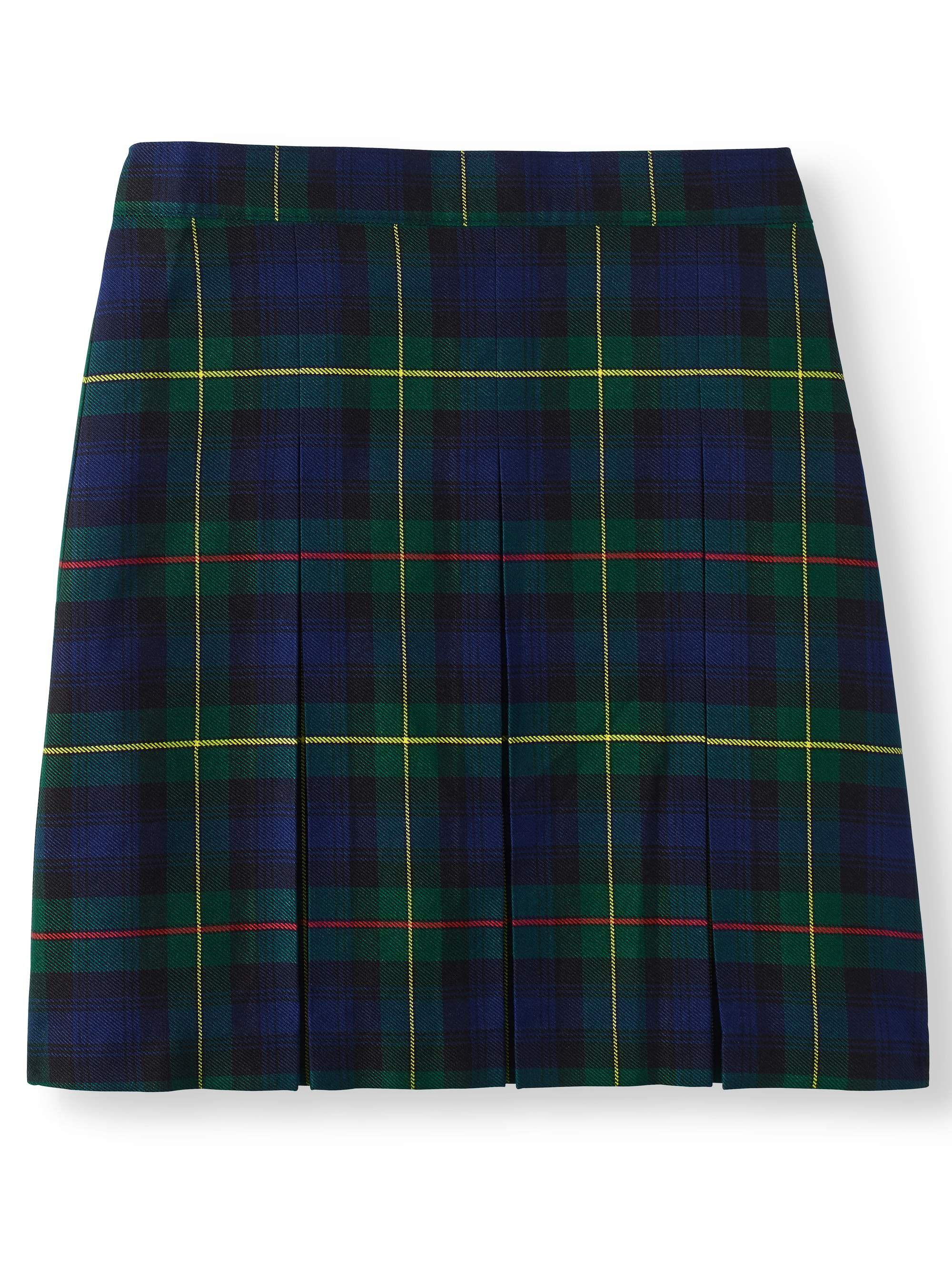 Girls School Uniform Plaid Parochial Skirt