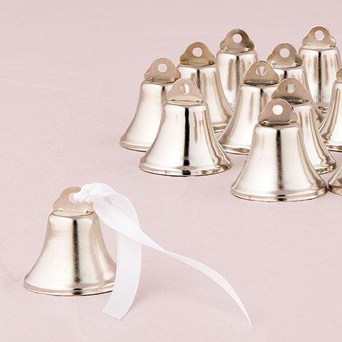Wedding Favor Supplies 8mm Aspire Brassy Mini Liberty Bells 100pcs