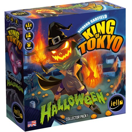 Halloween Party Games For High School Students (King of Tokyo Halloween Expansion Board)
