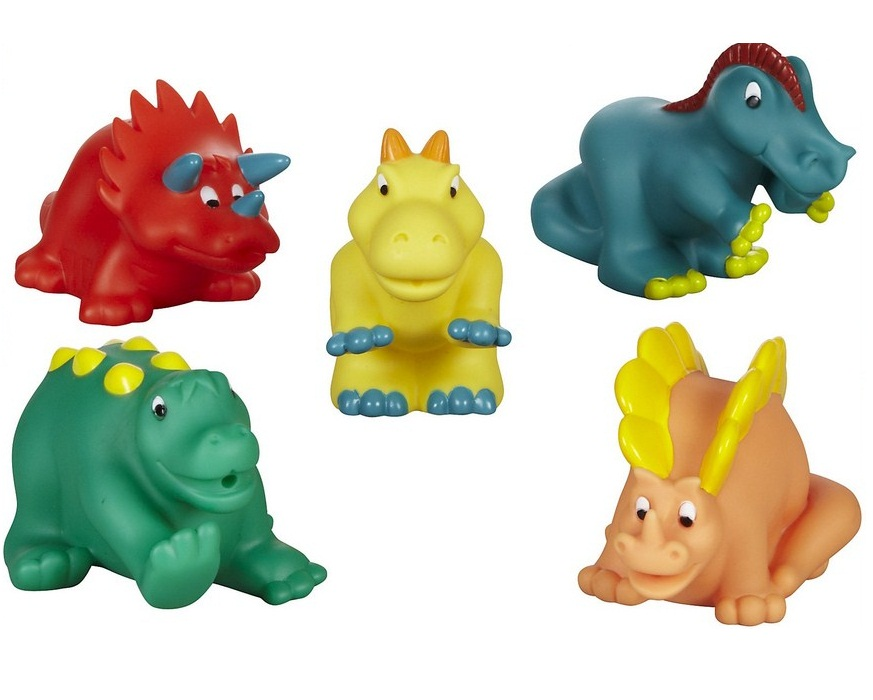 Battat Dino Bath Buddies by Toysmith