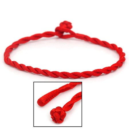 SEXY SPARKLES 5-Pack Kabbalah Red Strings Braided Bracelet for Good Luck,Wealth & Love](Cool String Bracelets)